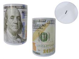 12 Units of Jumbo U.s. Dollar Tin Saving Bank - Coin Holders & Banks