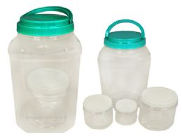60 Units of 4 Piece Set Storage Containers - Food Storage Containers