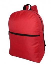 "50 Units of 17"" Basic Backpack - Backpacks 16"""
