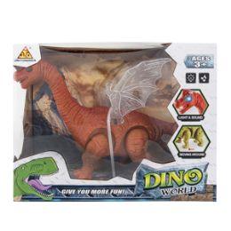 12 Bulk Light-up Dino World Brontosaurus with Sound