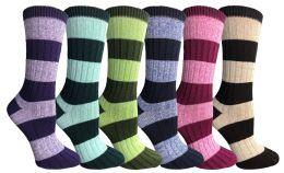 36 Units of Wool Socks For Women, Hunting Hiking Backpacking Thermal Boot Socks - Womens Thermal Socks