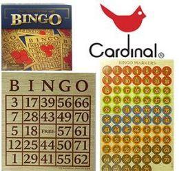 24 Bulk Cardinal Bingo Sets