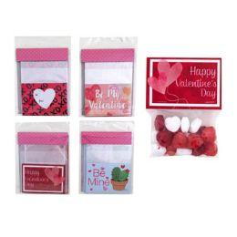 36 Units of Valentine Treat Bag - Valentine Gift Bag's