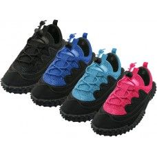 """36 of Children's Lace Up """"wave"""" Water Shoes"""