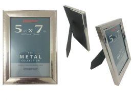 "48 Bulk 5""x7"" Metal Photo Frame"