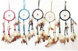 48 Units of Dream Catcher Collection In Assorted Colors - Home Decor
