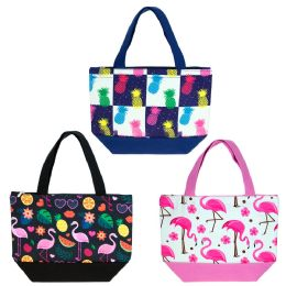 24 Units of Insulated Lunch Bag In 3 Assorted Styles - Lunch Bags & Accessories