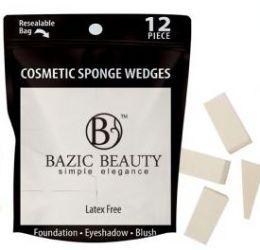 48 Bulk Cosmetic Sponge Wedges 12 Piece Count