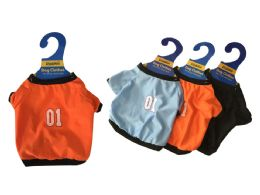 144 Units of Dog Cloths Blue Or Black - Pet Accessories