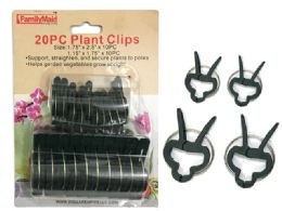 96 Units of 20 Piece Plant Clips - Garden Tools