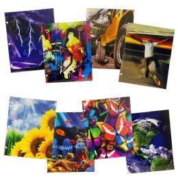 96 Units of Wholesale Kids Portfolio Folder In 2 Assorted Prints - Folders & Portfolios