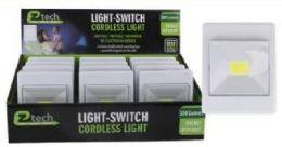 24 Units of Led Cordless Light Center Switch - Night Lights