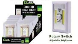 24 Units of Led Cordless Rotating Dual Light - Night Lights