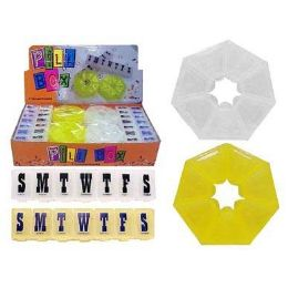 48 Units of Assorted Pill Box - Pill Boxes and Accesories