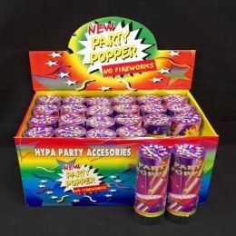 24 Units of Confetti Party Popper - Party Favors