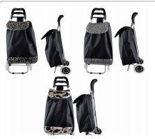 6 Units of Large Tote Shopping Cart Animal Print - Shopping Cart Liner