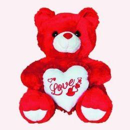 24 Units of Jumbo Red Bear - Valentines