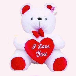 12 Units of White Bear - Valentines
