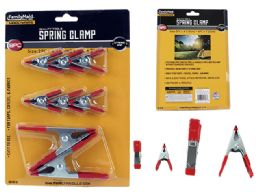 96 Units of 8pc Spring Clamps - Clamps