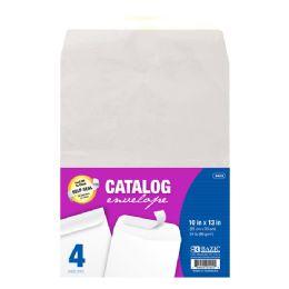 48 Bulk Bazic 10 X 13 SelF-Seal White Catalog Envelope (4/pack)