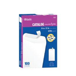 5 Bulk Bazic 9 X 12 SelF-Seal White Catalog Envelope (100/box)