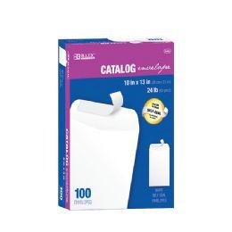 5 Bulk Bazic 10 X 13 SelF-Seal White Catalog Envelope (100/box)