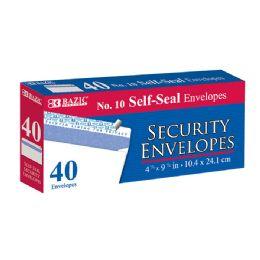 48 Bulk Bazic #10 SelF-Seal White Envelope (50/pack)