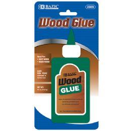 72 Units of Bazic 4 Fl. Oz. (118 Ml) Wood Glue - Glue