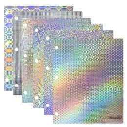 96 Units of Bazic Holographic 2-Pockets Portfolios - Folders & Portfolios