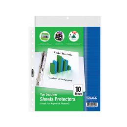 96 Bulk Bazic Top Loading Sheet Protectors (10/pack)