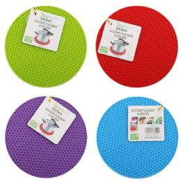 96 Units of Silicone Place Mat And Holder - Placemats