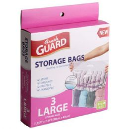 72 Bulk 3 Pack Large Storage Bag