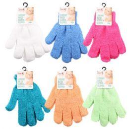 96 of Luxury Shower Exfoliate Scrubbing Glove