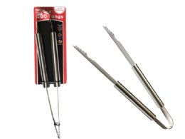 24 Units of Barbecue Tongs - BBQ supplies