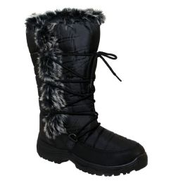 12 Units of Womens Boot In Black - Women's Boots