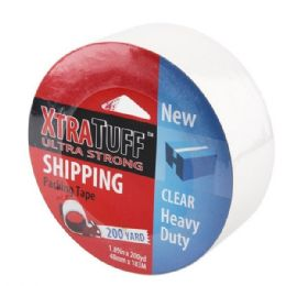24 Wholesale Xtratuff 200 Yard Clear Packing Tape