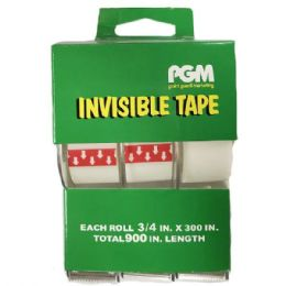 96 Wholesale Clear Invisible Tape