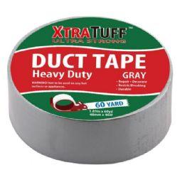 48 Wholesale Xtratuff 60 Yard Silver Duct Tape