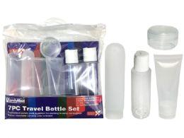 72 Units of 8 Piece Set Travel Bottle - Travel & Luggage Items