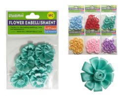288 Bulk 9 Piece Flower Embellishments
