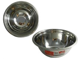 """48 Units of Stainless Mixing Bowl 8.7""""dia - Baking Supplies"""