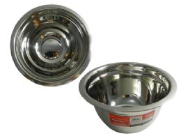 """48 Units of Stainless Mixing Bowl 7""""diax3.5""""h - Baking Supplies"""