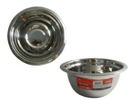 """48 Units of Stainless Mixing Bowl 6.3""""diax3""""h - Baking Supplies"""
