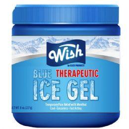 72 Bulk Wish 8 Oz Vaporizing Ice Chest Rub