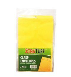 48 Wholesale Xtratuff 4 Pack Clasp Envelope