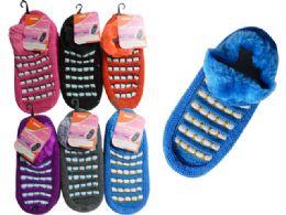 144 Wholesale Women Slipper W/rubber