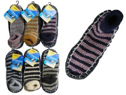 144 Wholesale House Slippers With AntI-Skid Dots