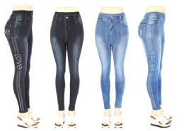 120 of Womens Fashion Denim Pants Assorted Syles