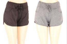 72 of Womens Assorted Color Shorts