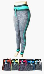 48 Units of Womens High Rise Slim Fitted Draw String Jogger Pants With Comfortable Stretch - Womens Pants